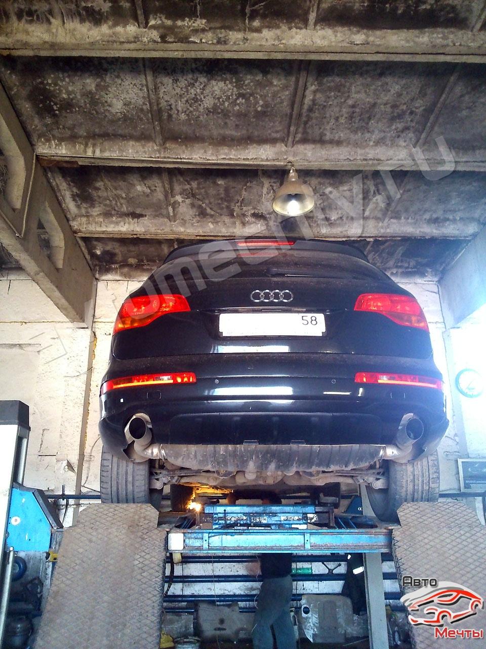 Чип-тюнинг Audi Q7, отключение сажевого фильтра DPF, системы EGR, увеличение мощности Stage-1