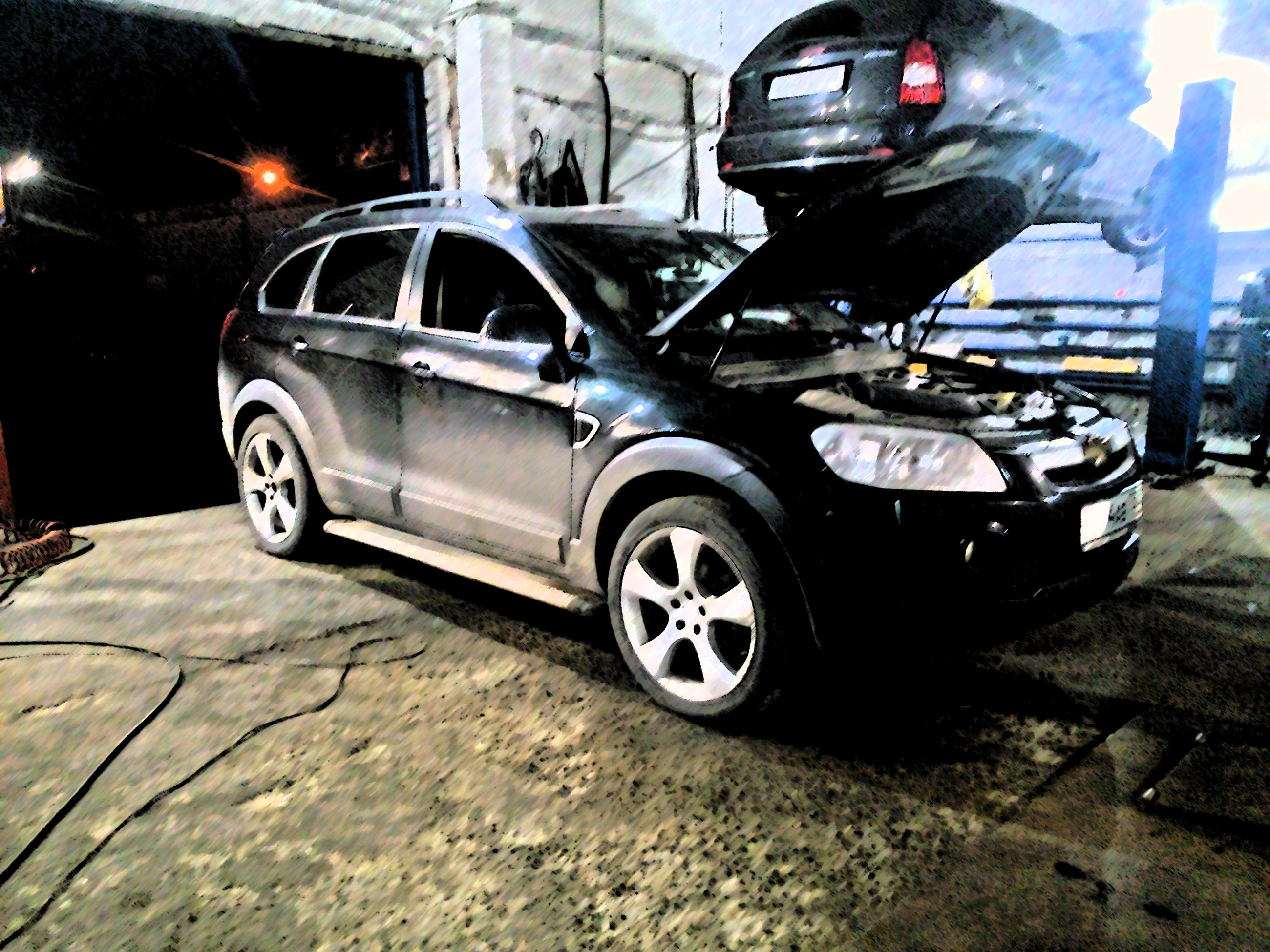 Чип-тюнинг Chevrolet Captiva 3.2 V6 24V 211 л.с. 297Нм АКПП 2011г.в.