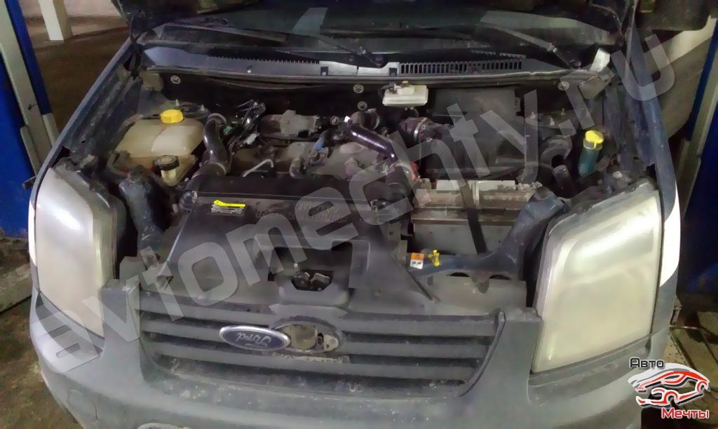 Прошивка Ford Transit Connect. Отключение клапана ЕГР и увеличение мощности.