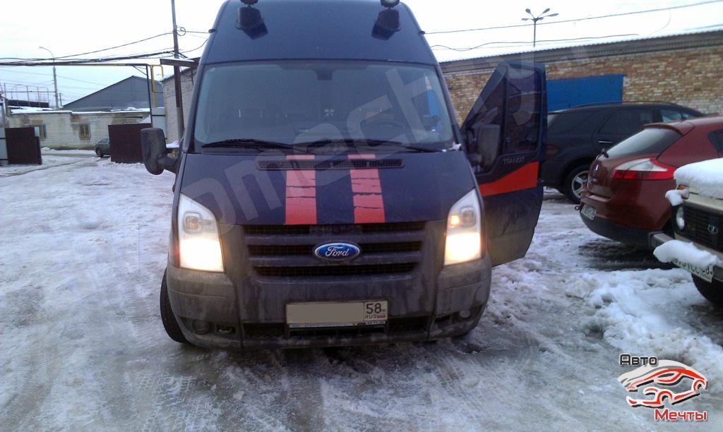 Прошивка Ford Transit. Отключение клапана ЕГР и увеличение мощности.