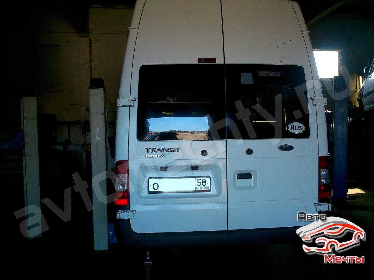 Чии-тюнинг Ford Transit. Отключение клапана ЕГР и дефорсирование мощности.