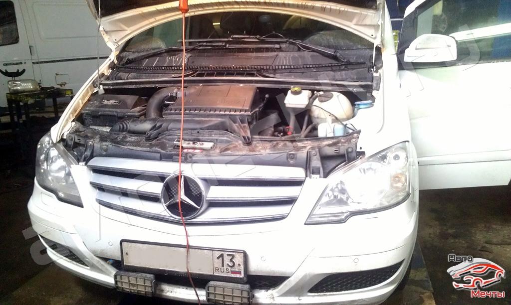 Чип-тюнинг Mercedes Viano, удаление сажевого фильтра DPF