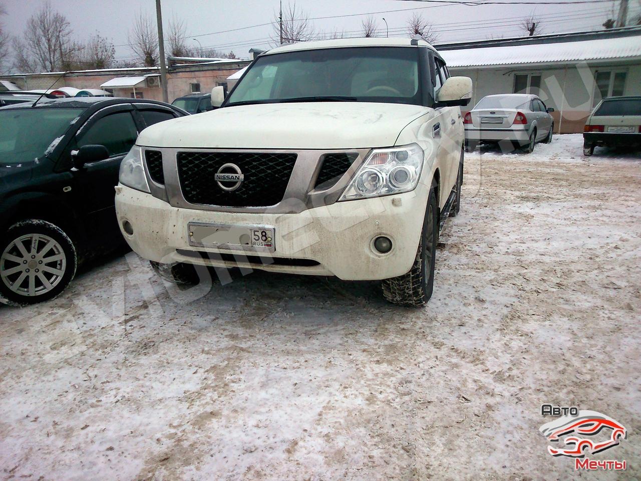 Прошивка Nissan Patrol