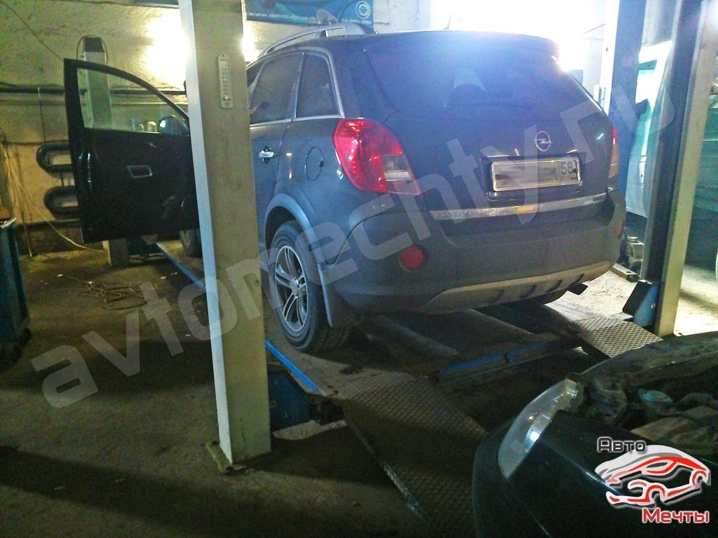 Чип тюнинг Opel Antara