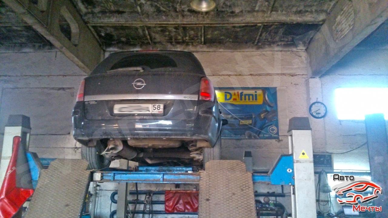 Чип тюнинг Opel Astra H. Удаление сажевого фильтра DPF.
