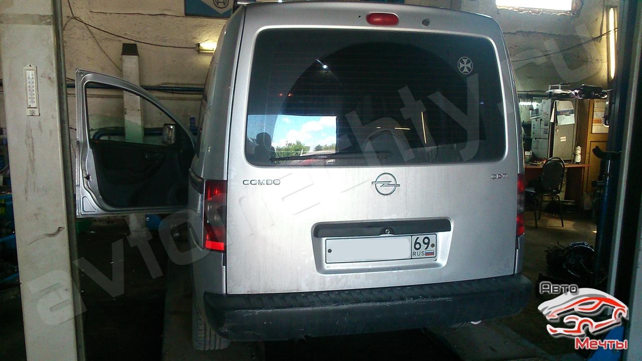 Чип тюнинг Opel Combo