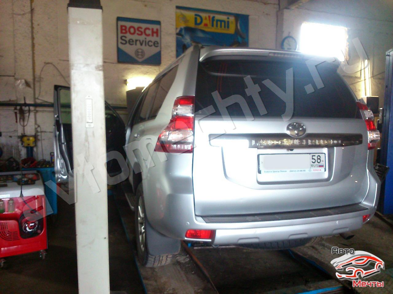 Чип-тюнинг Toyota Land Cruiser Prado, отключение сажевого фильтра DPF, системы EGR, увеличение мощности Stage-1