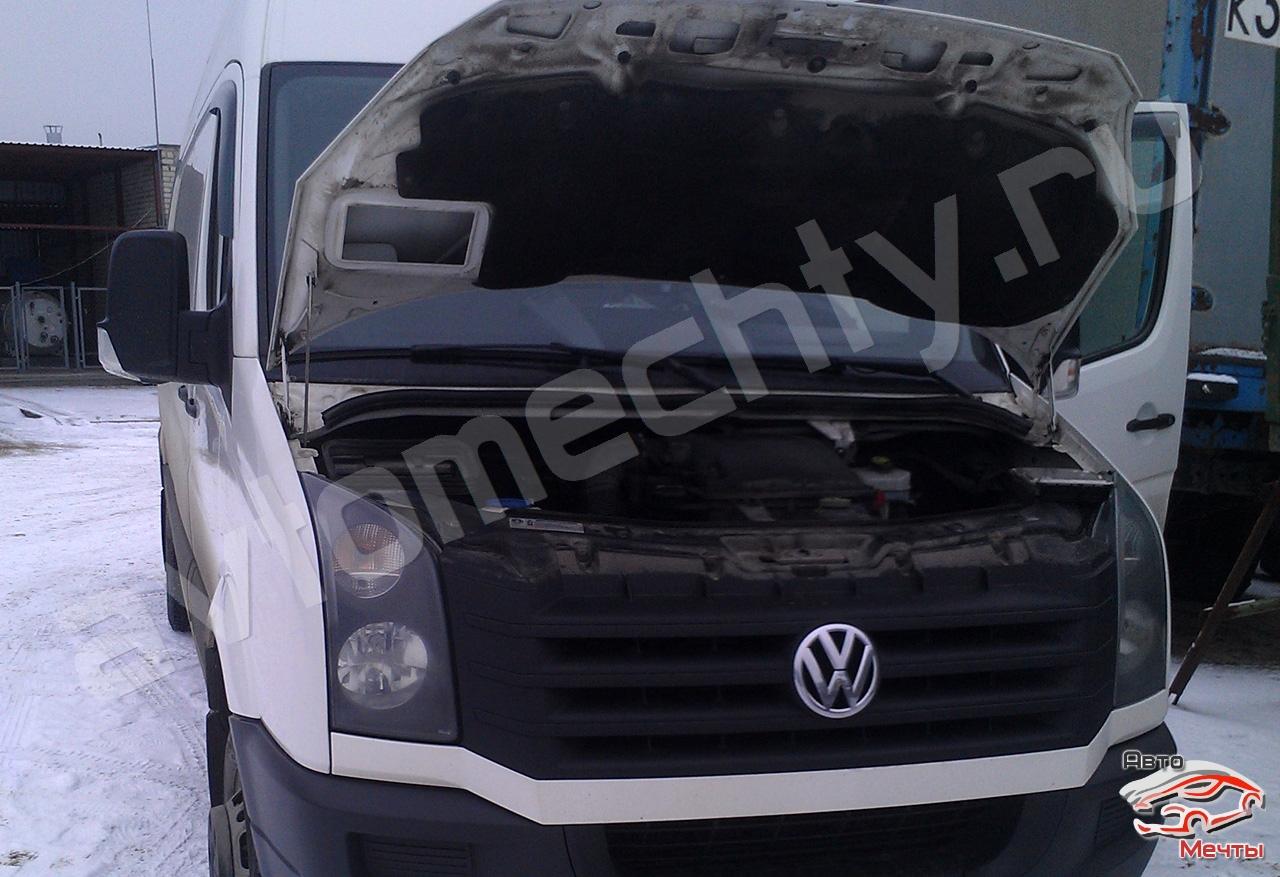 Чип-тюнинг VW Crafter, отключение сажевого фильтра DPF, системы EGR, увеличение мощности Stage-1