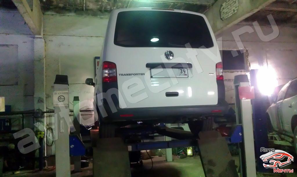Чип-тюнинг VW Transporter T5