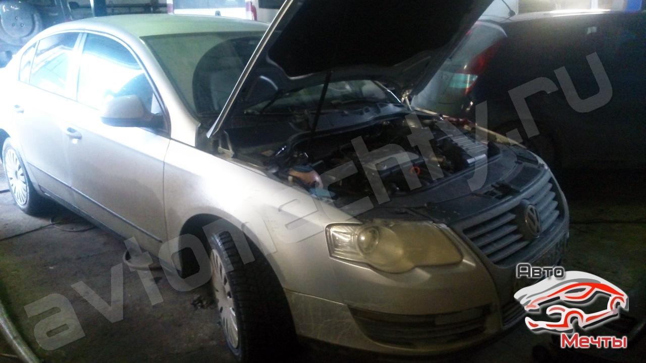 Чип-тюнинг VW Passat B6, отключение сажевого фильтра DPF, системы EGR, датчика оксида азота NOx, увеличение мощности Stage-1