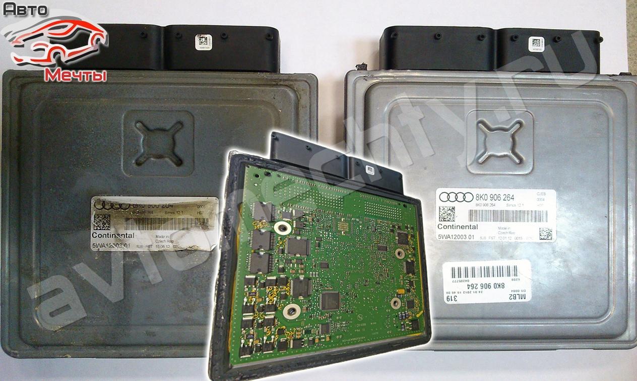 Электронный блок управления двигателем Continental Simos 12.1 авто Audi A5 1.8 TFSI