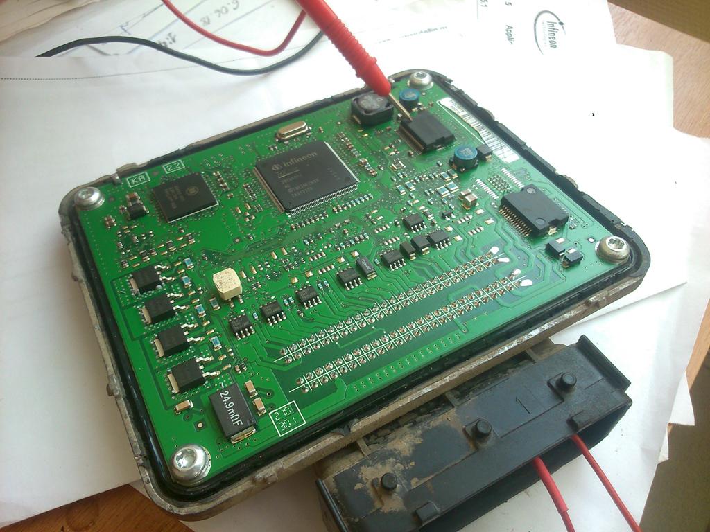 Устранение неисправностей: пропуски зажигания, не заводится, блок управления двигателем не выходит на диагностику. Ремонт ЭБУ Delphi MT60 (каталожный номер GM: 25192115 ABVS).