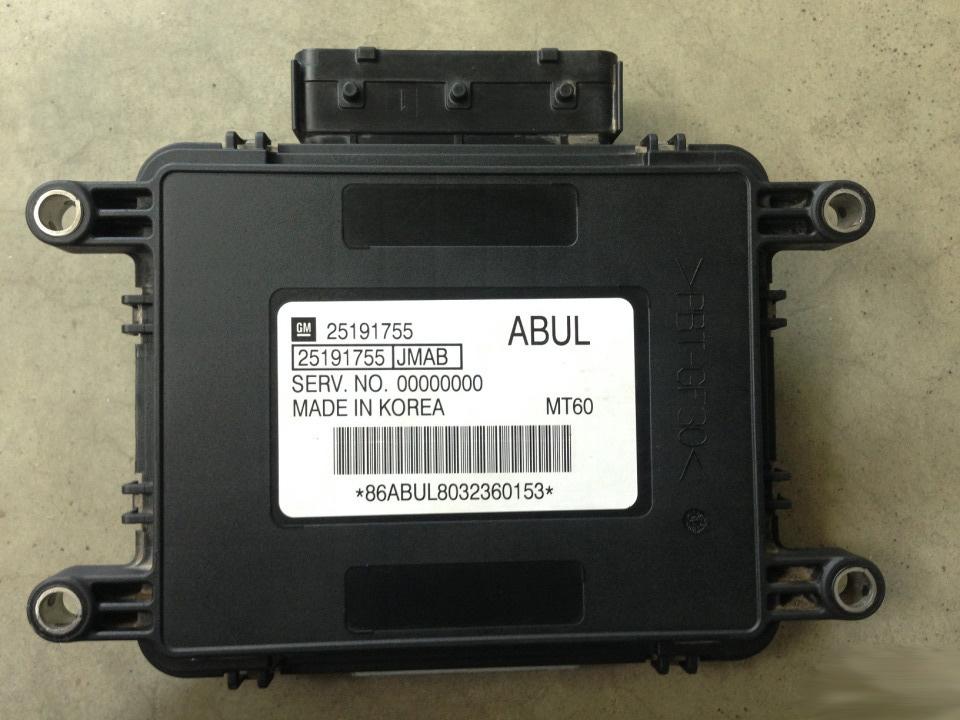 Ремонт блока управления двигателем Delphi MT60 (каталожный номер GM: 25191755 ABUL) автомобиля Ravon Daewoo Gentra 1.5