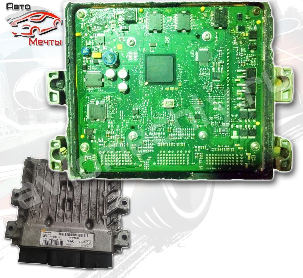 Электронный блок управления двигателем Continental SID208 автомобиля FORD TRANSIT (каталожный номер CC11-12A650-BC)