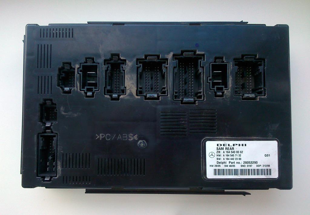 Задний блок SAM Rear производства Delphi авто MERCEDES-BENZ ML350 W164 2006г.в