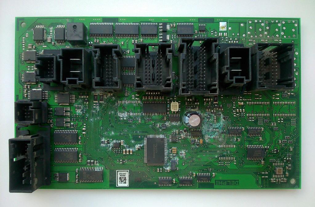 Повреждение платы SAM Rear MERCEDES-BENZ ML350 W164 2006г.в