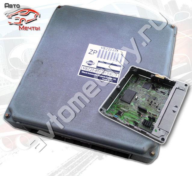 Электронный блок управления двигателем HITACHI MEC20-655 автомобиля Nissan Almera 1.8L, двигатель QG18DE