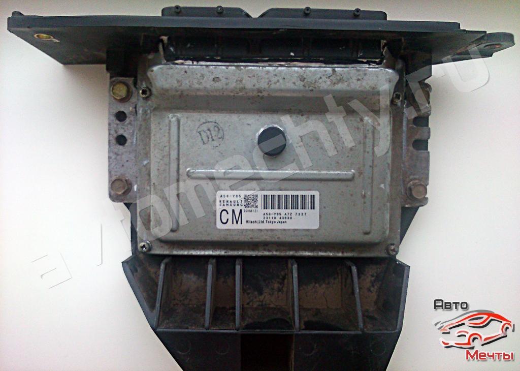 Электронный блок управления двигателем HITACHI A56-Y85 автомобиля Nissan Almera 1.6L. Восстановление блока ниссан. Неисправно управление главным реле EGI и реле дросселя.