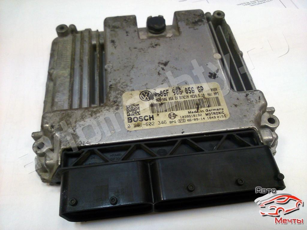 Электронный блок управления двигателем Bosch MED9.5.10 авто VW Passat B6 2.0 FSI